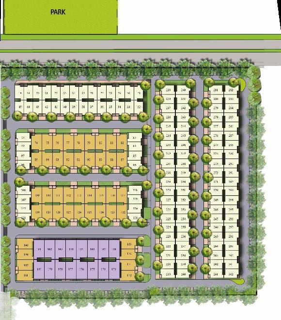 panchsheel villas master plan image6
