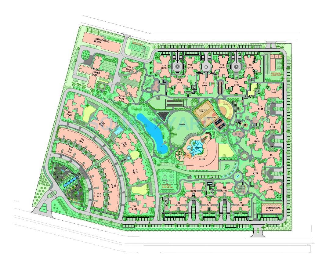 paras tierea duplex master plan image1