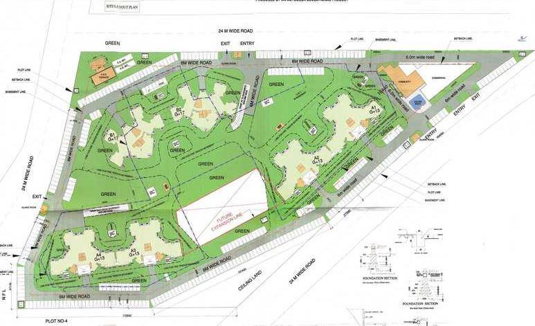 parsvnath palacia phase 2 master plan image5