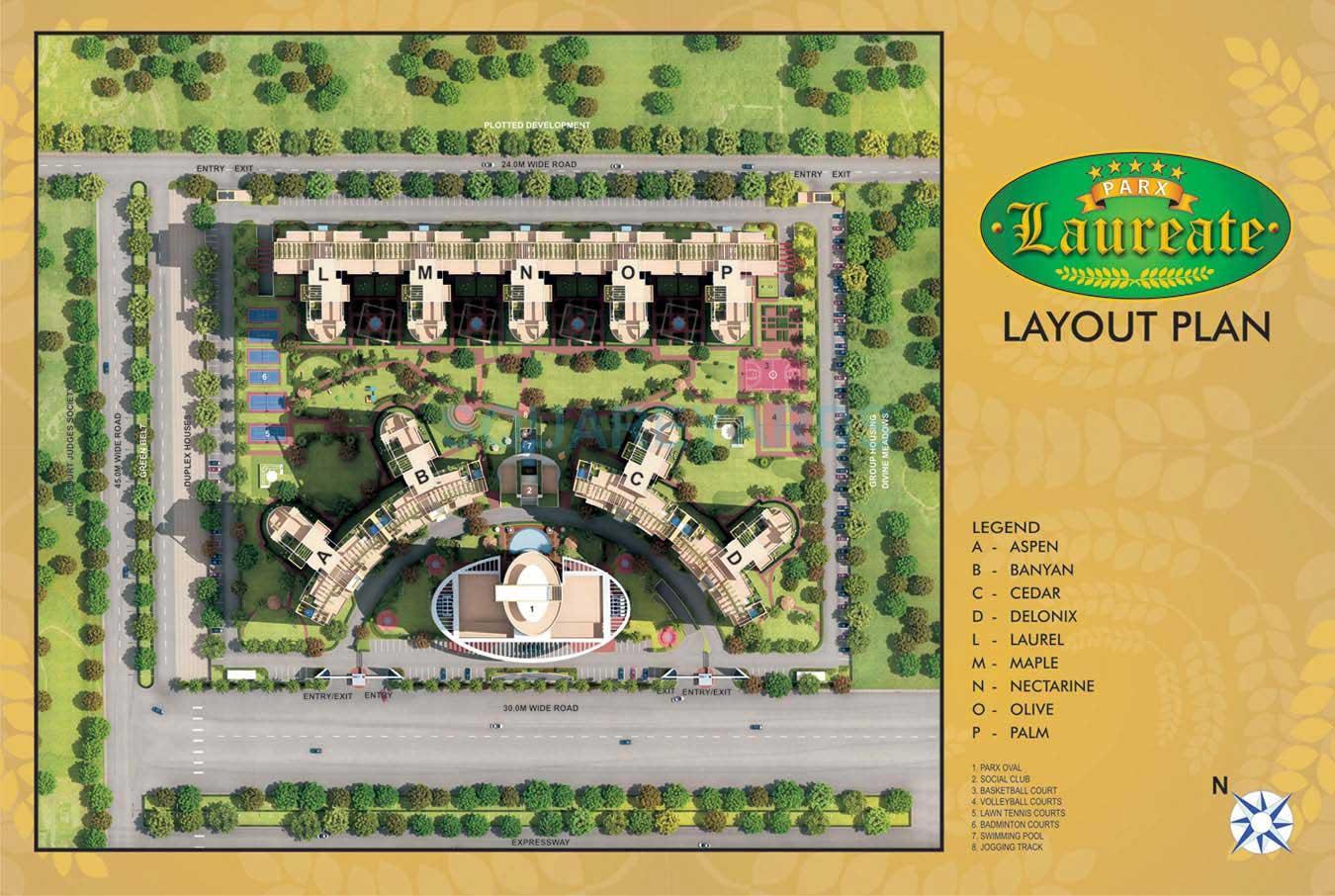 parx laureate master plan image1