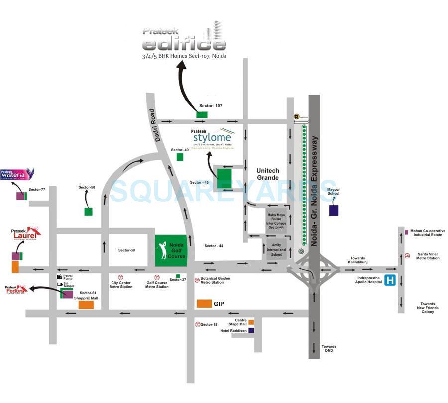 prateek edifice location image1