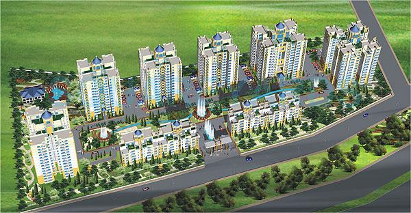purvanchal heights master plan image2