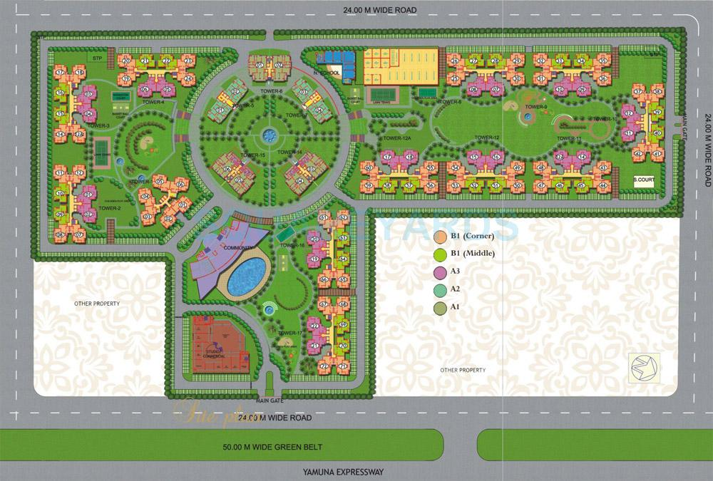 purvanchal royal city master plan image1
