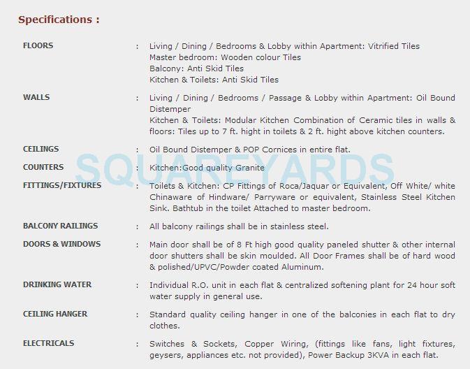 purvanchal royal park specification1