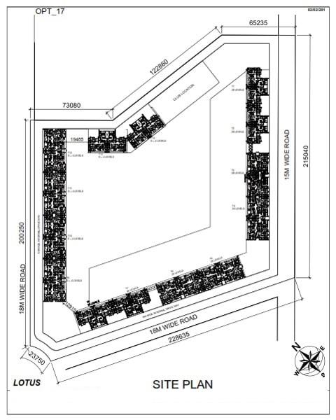 saha opulence master plan image4