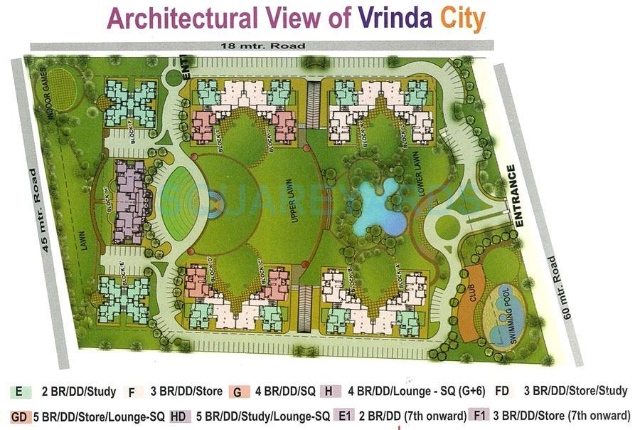 samiah vrinda city master plan image1