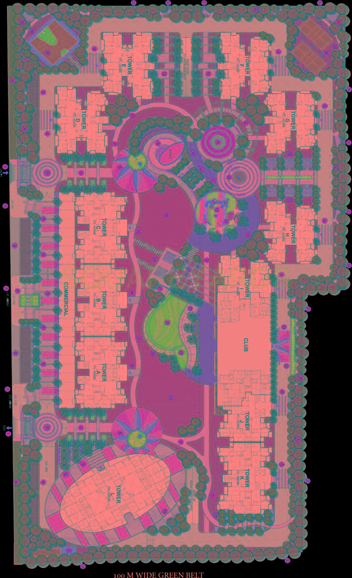 samridhi grand avenue master plan image1