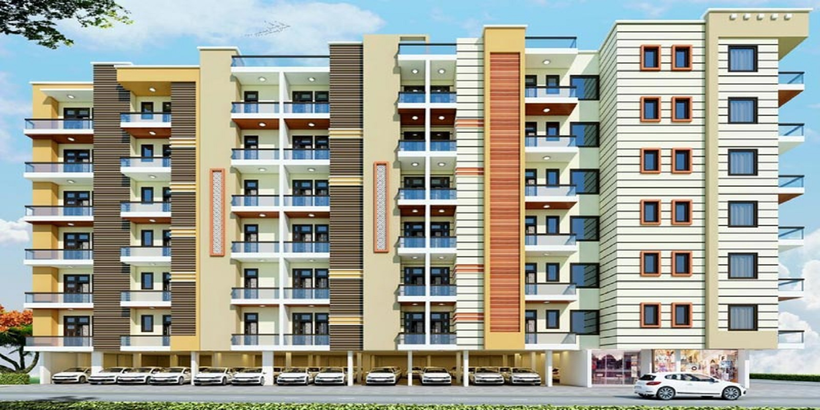 satyam paradise sector 121 project large image2