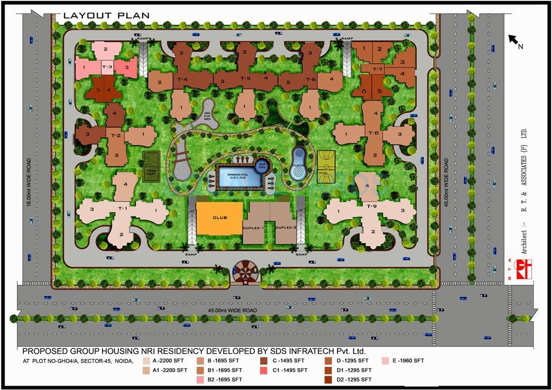 sds nri residency master plan image1