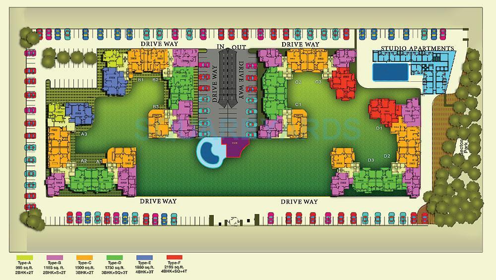 shubhkamna advert techomes master plan image1