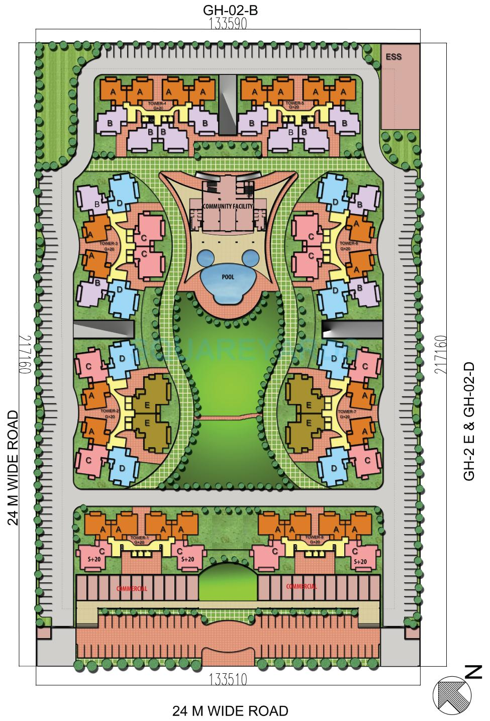 shubhkamna epic master plan image1