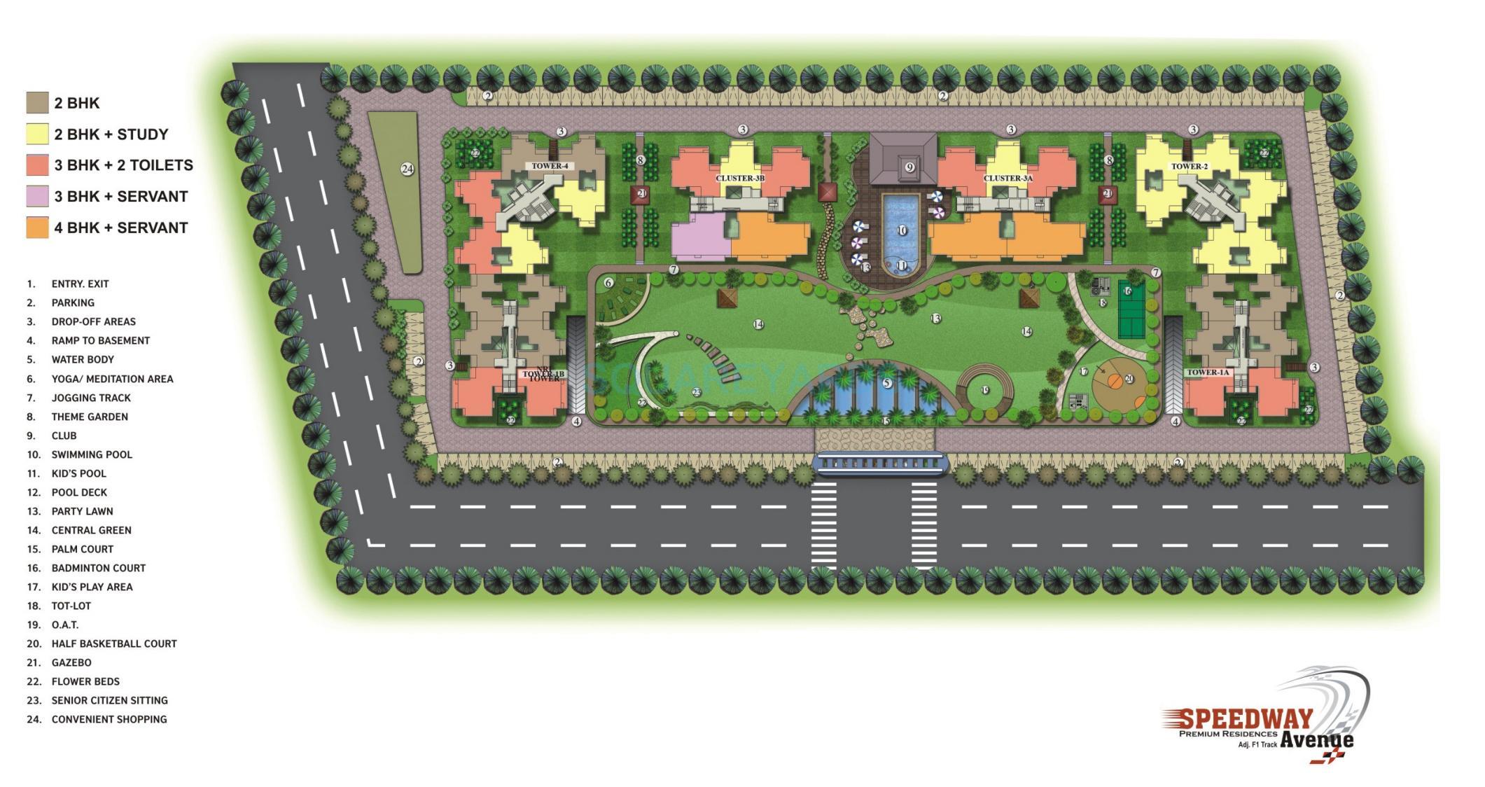 speedway avenue master plan image1