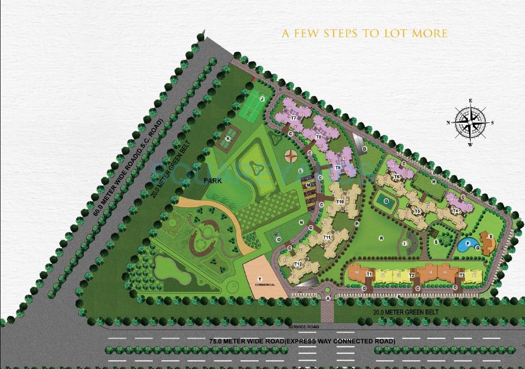 sunworld vanalika master plan image1