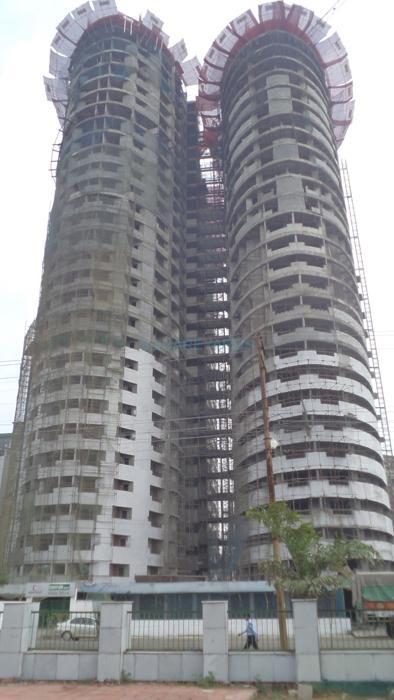 supertech ceyane tower construction status image1