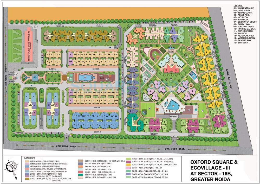 supertech ecovillage iii master plan image1