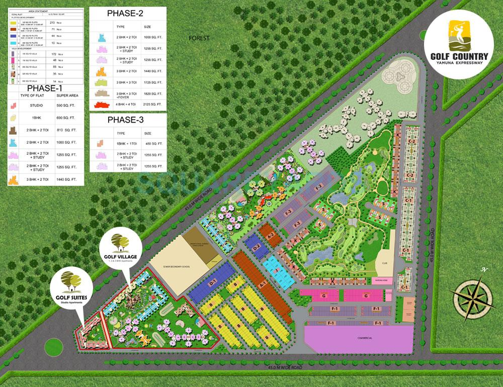 supertech golf suites master plan image1