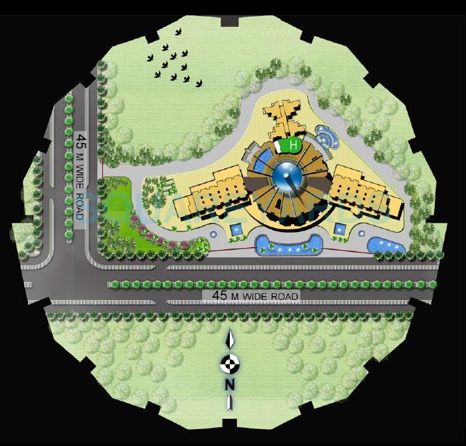 supertech north eye master plan image1