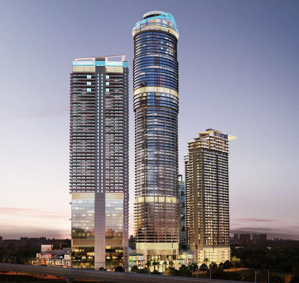 supertech supernova nova residences project tower view1