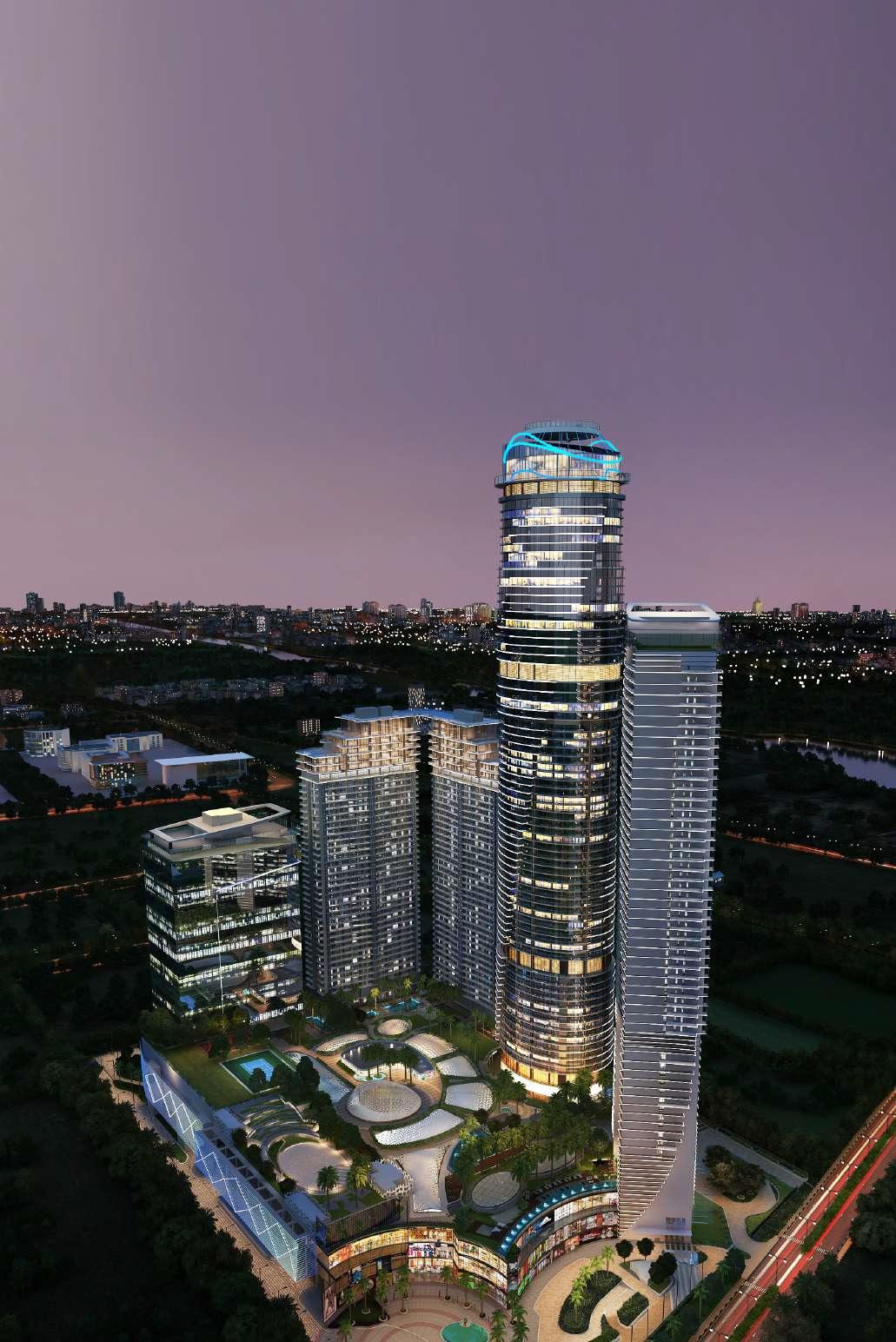 supertech supernova nova residences project tower view2