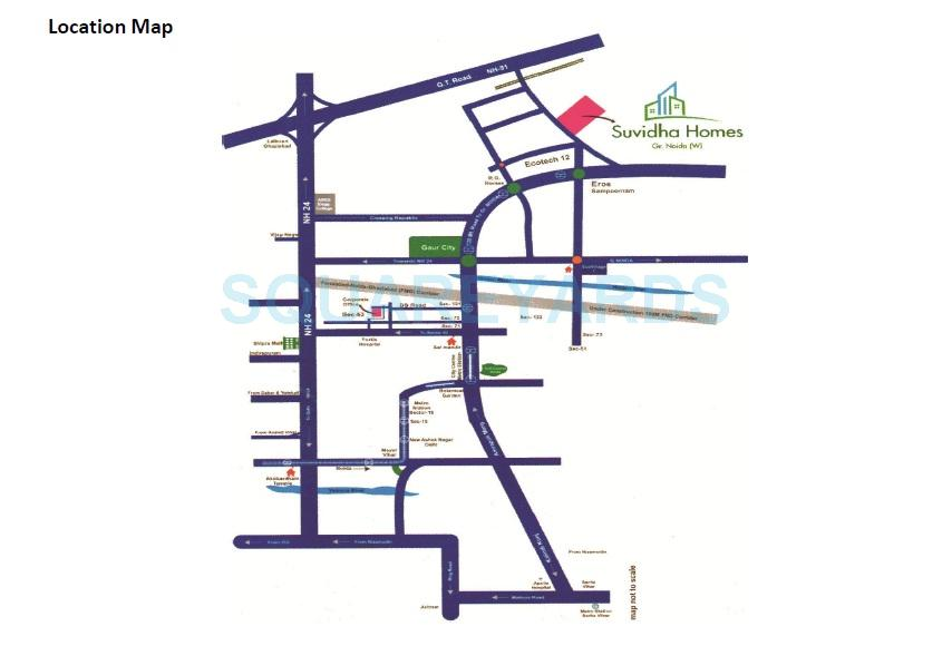 suvidha homes location image1