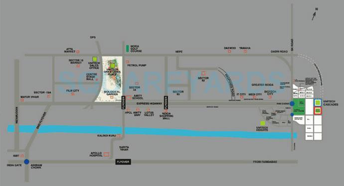 unitech cascades location image1