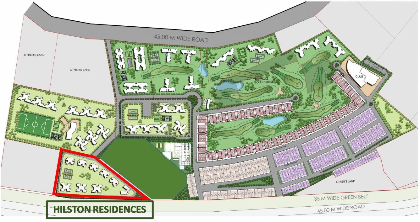 urbtech hilston project master plan image1