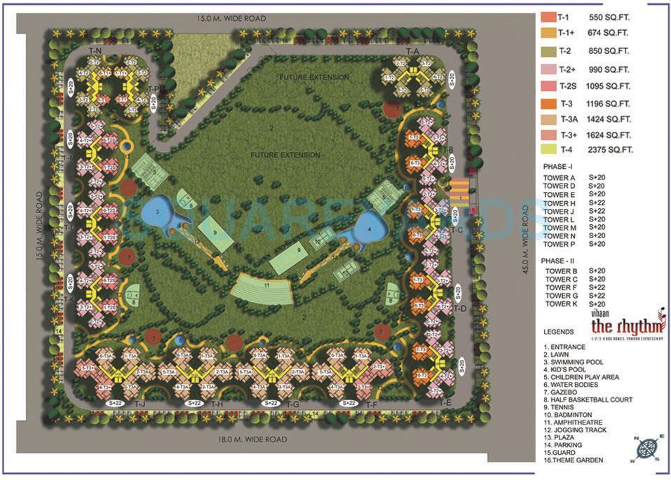 vihaan greens master plan image1