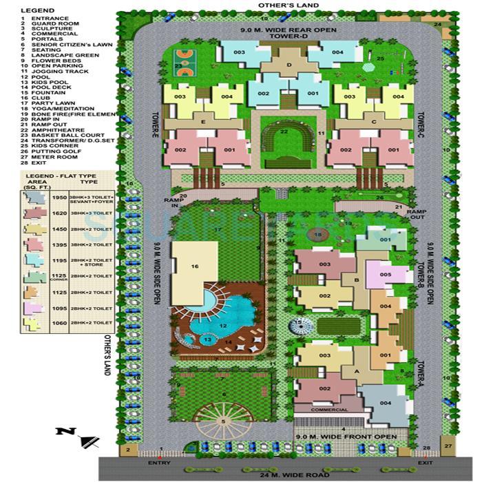 wall rock aishwaryam master plan image2