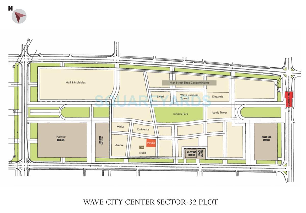 wave city center vasilia master plan image1