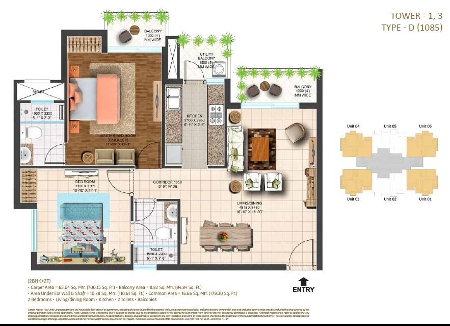 ace parkway apartment 2bhk 1085sqft81