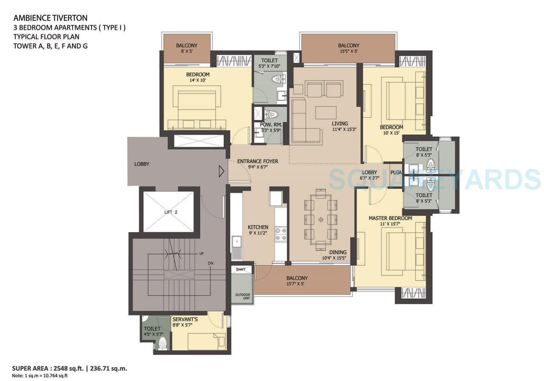 ambience tiverton apartment 3bhk 2548sqft 20201124111123