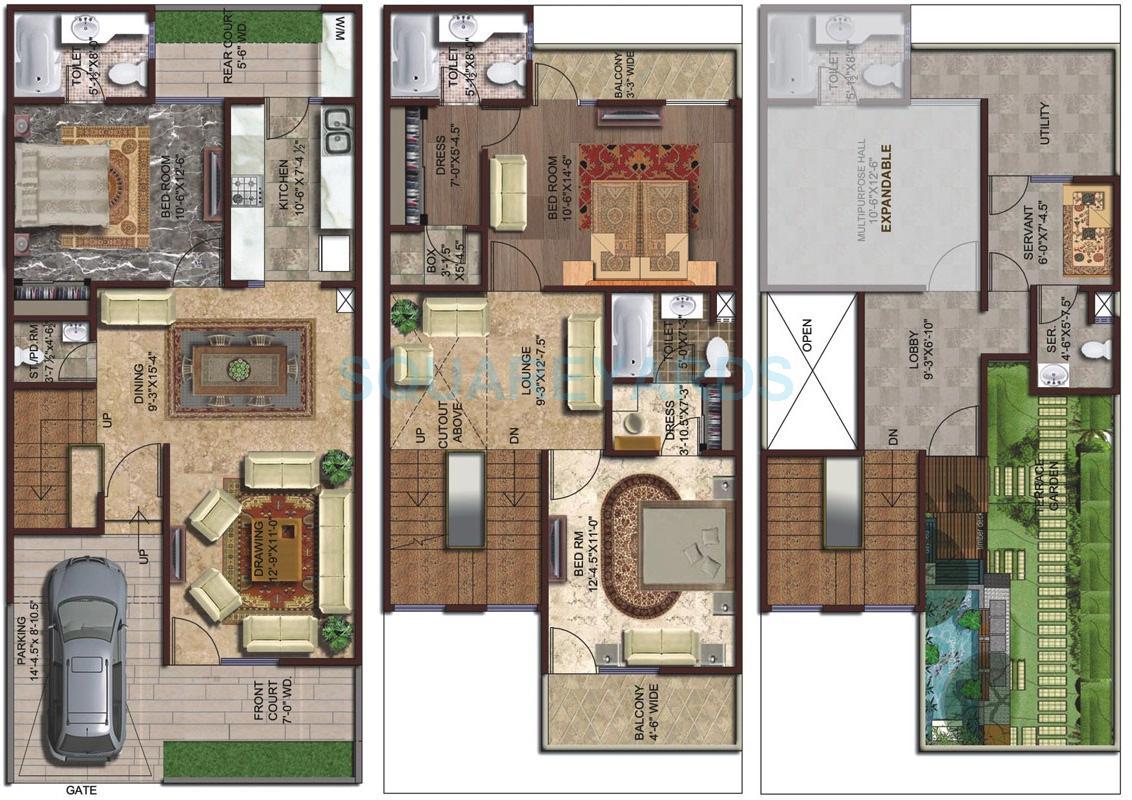 Amrapali Silicon City Floor Plan Striking House Designerraleigh kitchen cabinets