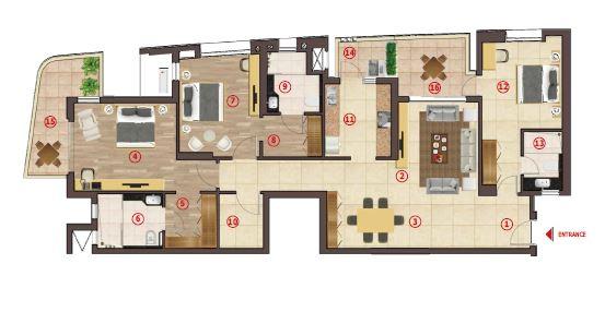 antara noida phase 1 apartment 3bhk 2493sqft31