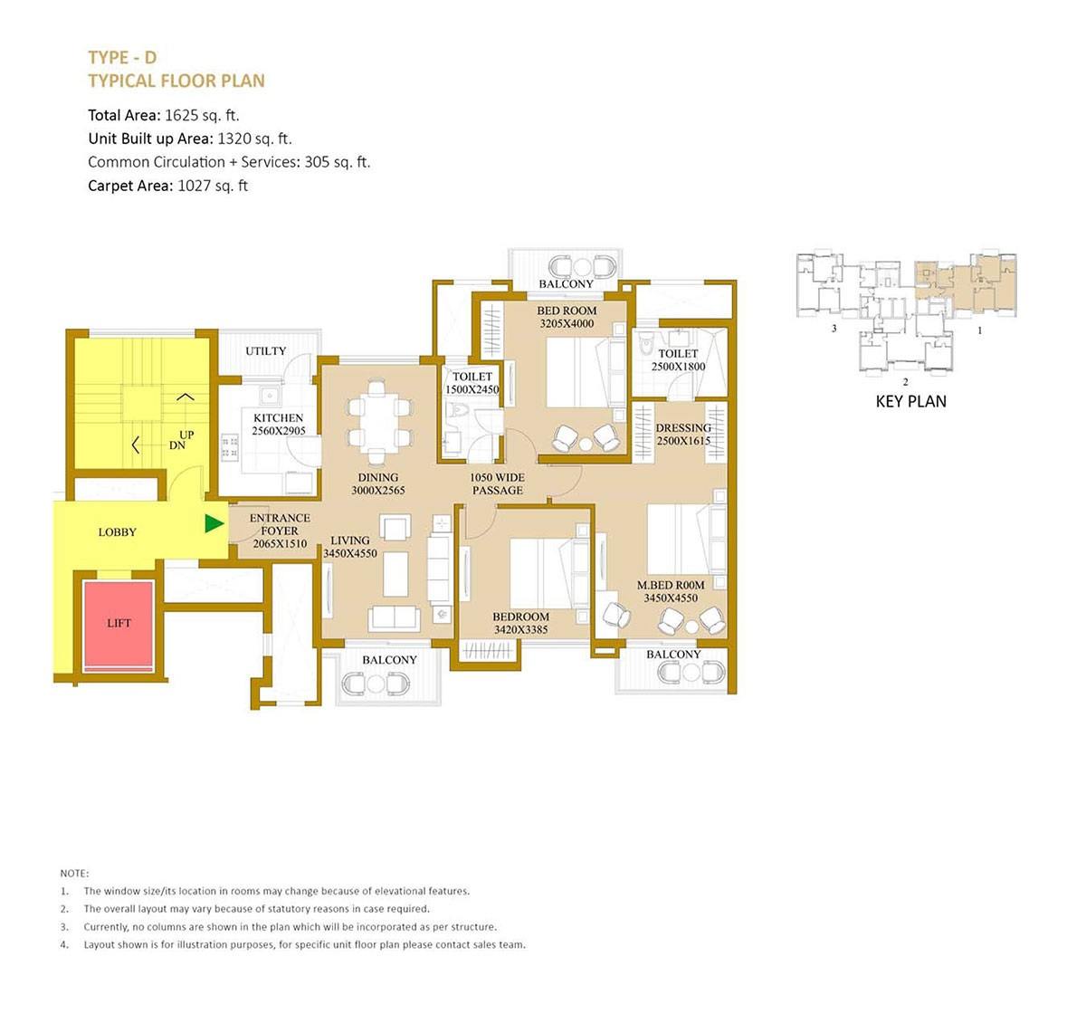 ats le grandiose phase 2 apartment 3bhk 1625sqft01
