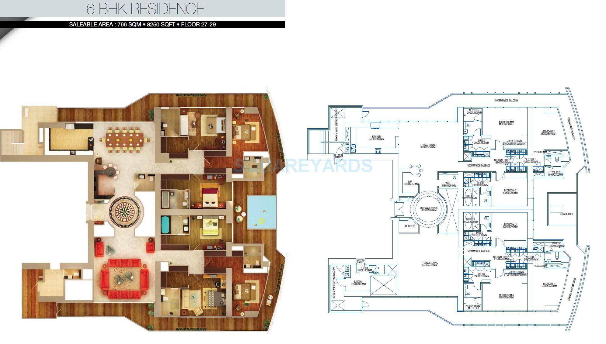 brys buzz apartment 6bhk 8250sqft 1