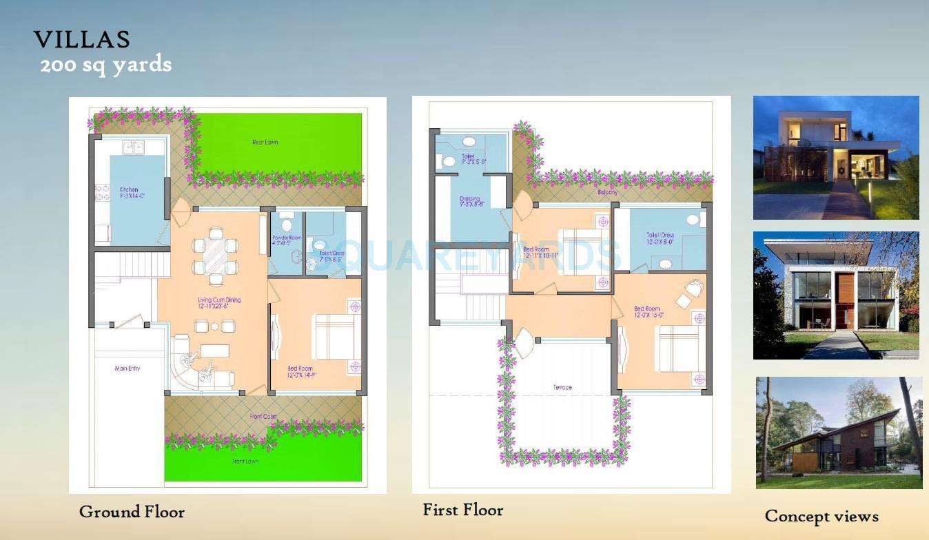 cosmic cruise villas villa 3bhk 4806sqft 1