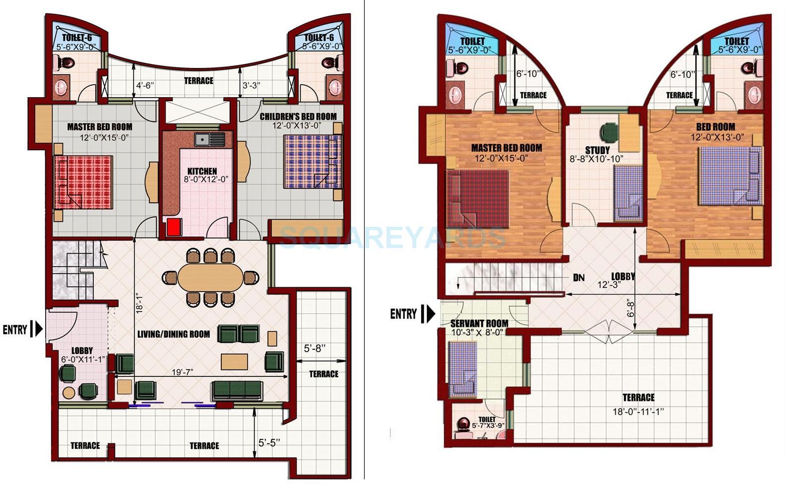 eldeco utopia apartment 4bhk st sq 2470sqft 1