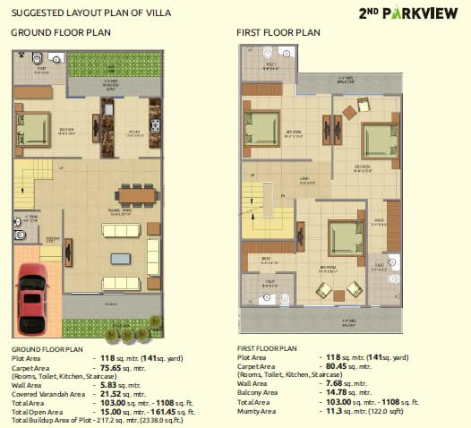 gaur yamuna city 2nd park view plot 1269sqft 1