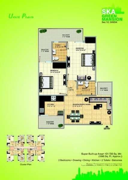 gaursons ska green mansion apartment 2 bhk 1095sqft 20200322160323
