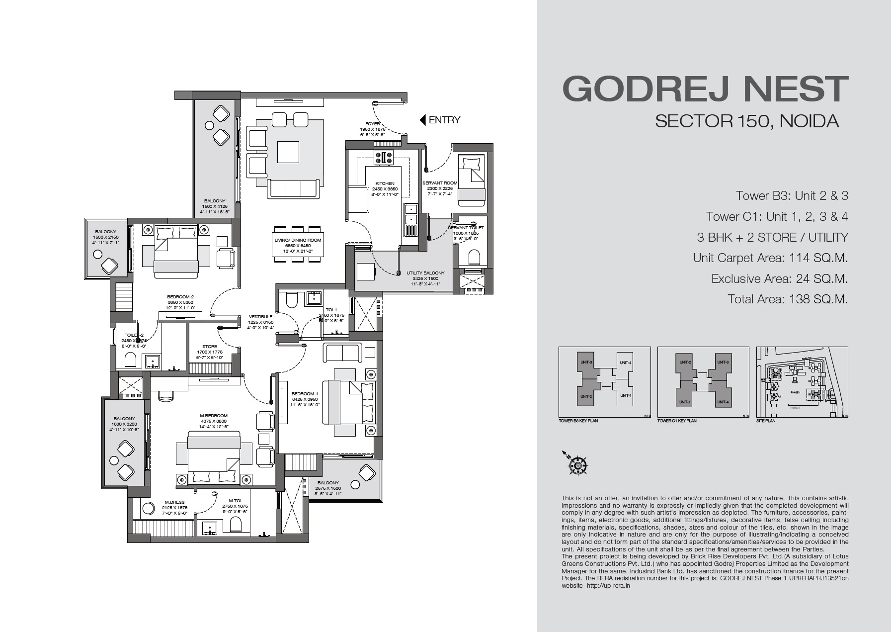 godrej nest apartment 3bhk sq 1227sqft 71