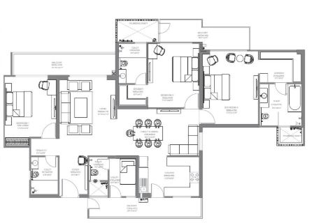 godrej palm retreat apartment 3bhk 2000sqft 51