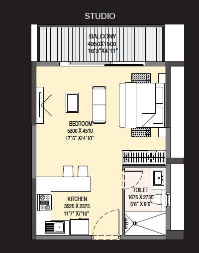 godrej the suites studio 395sqft 1