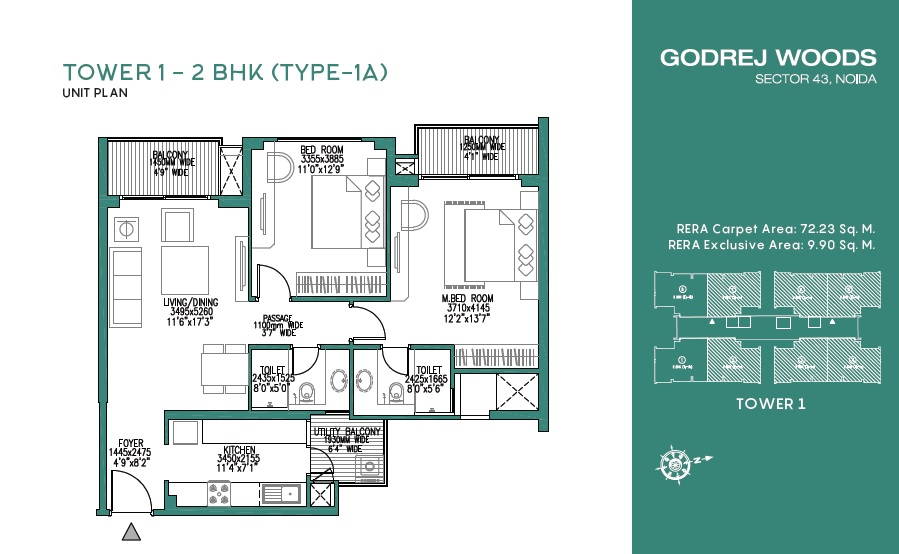 godrej woods apartment 2 bhk 777sqft 20215624135615