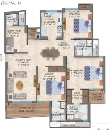 great value anandam apartment 3bhk 1181sqft 31