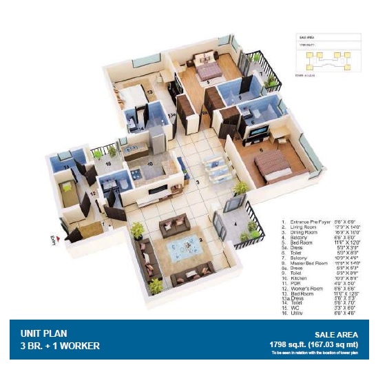 jaypee greens the orchards apartment 3 bhk 1798sqft 20215825105843