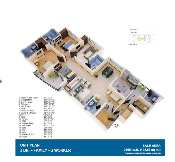 jaypee greens the orchards apartment 3 bhk 2105sqft 20211725111700