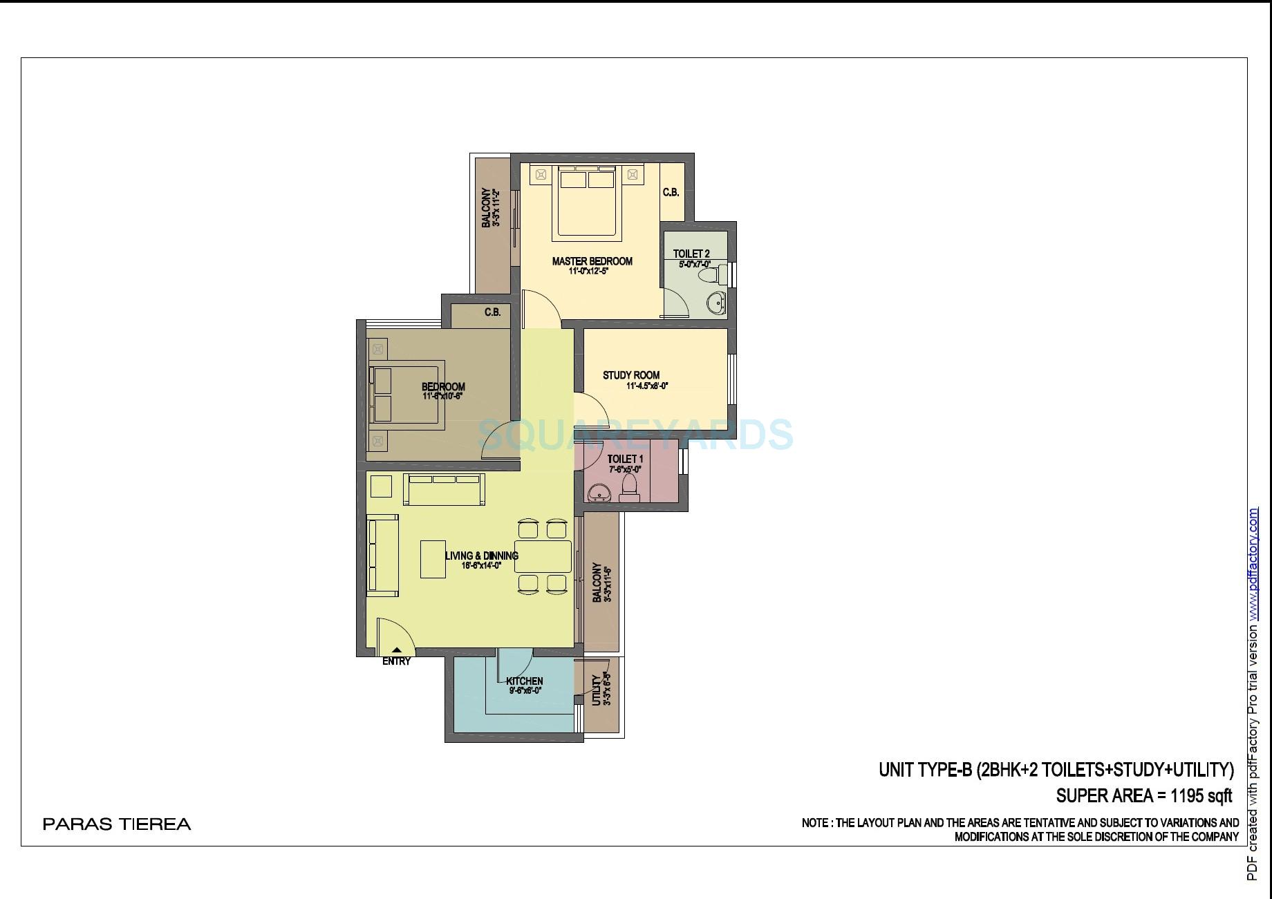 Paras tierea in sector 137 noida project overview unit for 5 bhk duplex floor plan