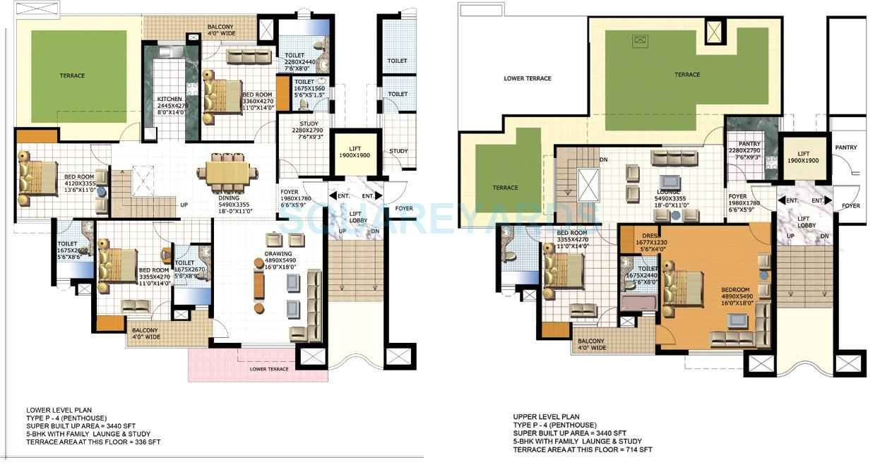 purvanchal heights penthouse 5bhk 3440sqft 1