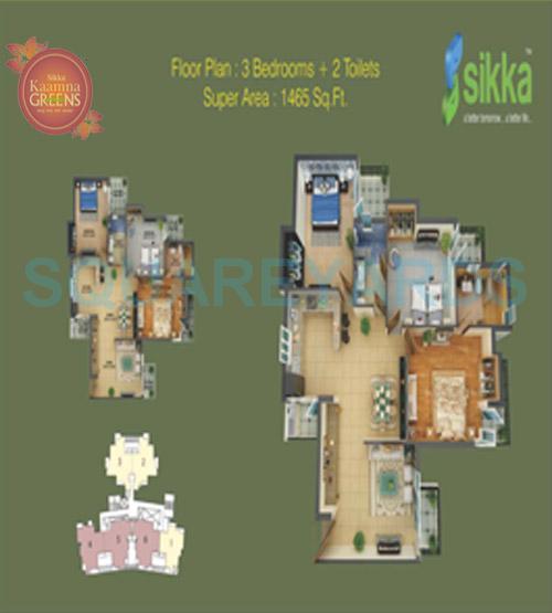 sikka kaamna apartment 3bhk 1466sqft 1
