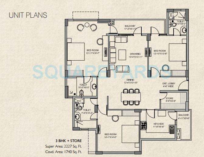 steller mi legacy apartment 3bhk 2227sqft 1